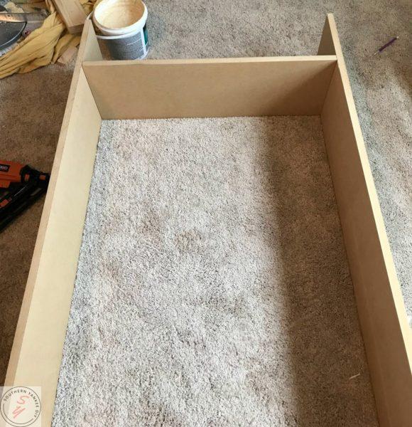 Room Renovation: Office week 3 Bench frame 2