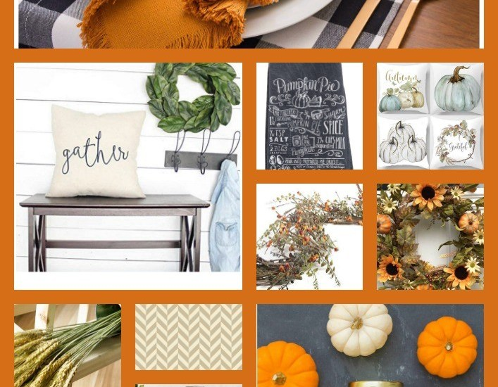 Budget Friendly Amazon Fall Home Decor