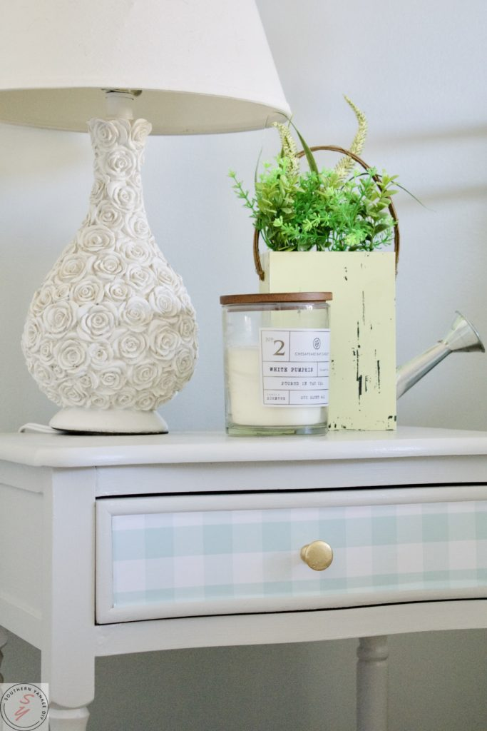 How To Update Furniture With Wallpaper Southern Yankee Diy