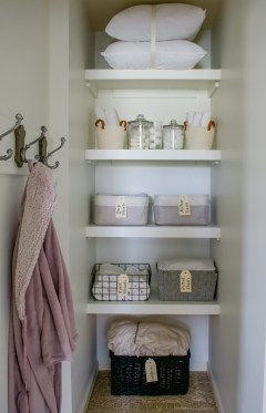 Linen Closet Week 2, 2020 projects, projects, renovations, remodels, pantry, linen closet, craft room closet storage, storage, accent walls, wrapping paper organization, kids bathroom, bathroom remodel, remodel inspiration, organized living, Hooks, linen closet, how to hang, wall hangings, linen closet renovation, $100 room challenge, room renovation, 2020 projects, projects, renovations, remodels, pantry, linen closet, craft room closet storage, storage, accent walls, wrapping paper organization, kids bathroom, bathroom remodel, remodel inspiration, organized living, $100 room challenge, reveal