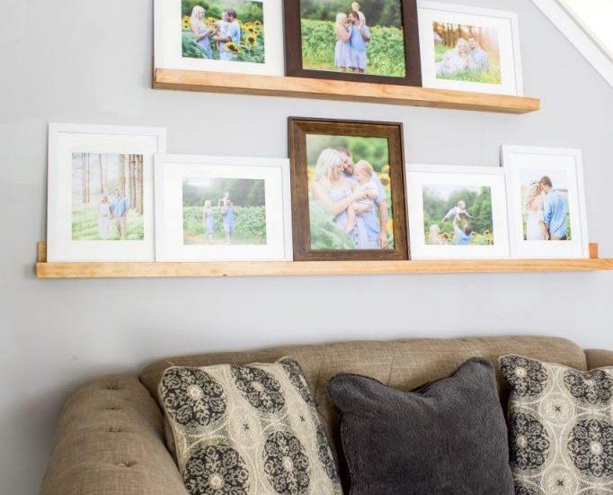 Picture ledge, picture ledge shelf, diy picture ledge, photo ledge, photo ledge shelf, picture wall shelf, floating picture shelves, picture shelf, wood picture ledge, ledge shelf, photo shelf, picture frame shelf, wall ledge shelf