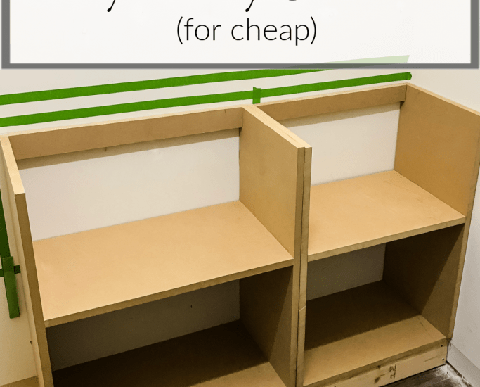 How To Build DIY Pantry Cabinets