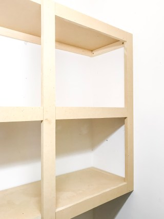 How To Make Easy Floating Shelves For Cheap
