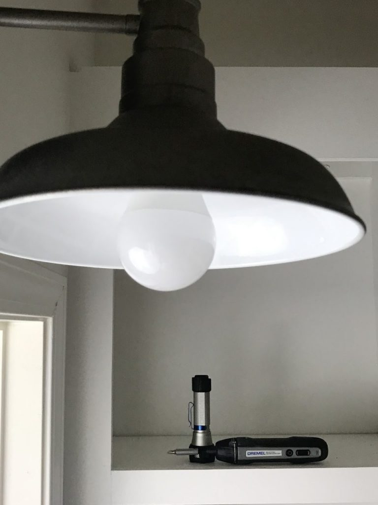 motion detecting light fixture