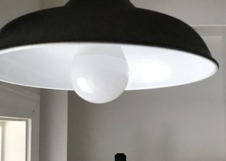 motion detecting light fixture