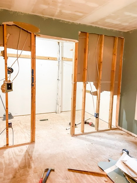 How To Remove An Interior Wall Without Needing To Repair Drywall