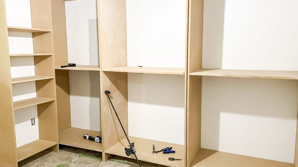 How To Build A Custom Walk-In Closet On A Budget: Part 1
