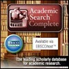 Academic Search Complete** (New!)