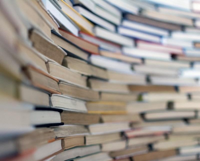 friends bookshelf open