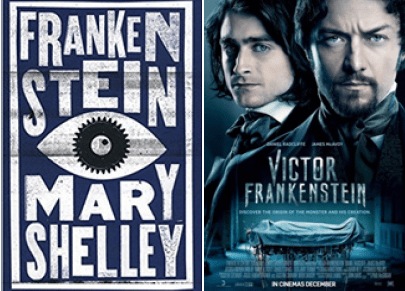 From Page to Film – Frankenstein