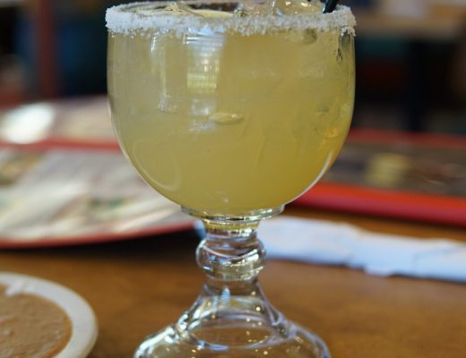 Margarita at Patron Azteca Mexican Restaurant Hollywood Florida