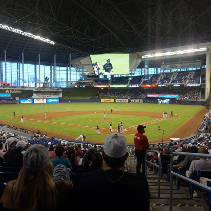 Marlins Park Marlins stadium view