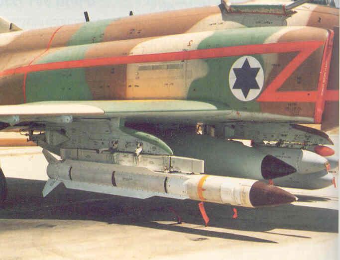 Israeli Air Force Anti-Radiation Missiles