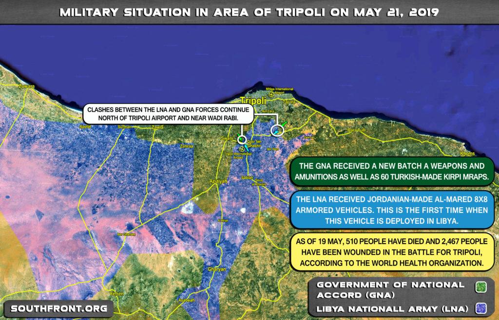 Stalemate v blízkosti Tripolis: Líbyjská národná armáda zlyhá dodať zničujúce Blow to GNA síl