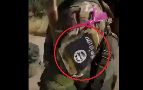 Idlib 'Mierne povstalcov' s ISIS Patches oslavuje spustenie MANPAD na sýrskej Warplane (Video)