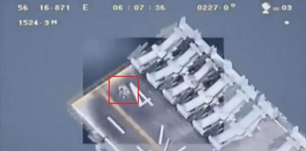 """Nemôžete dole naše Drone"": Irán Vydané Drone Zábery USS Boxer"