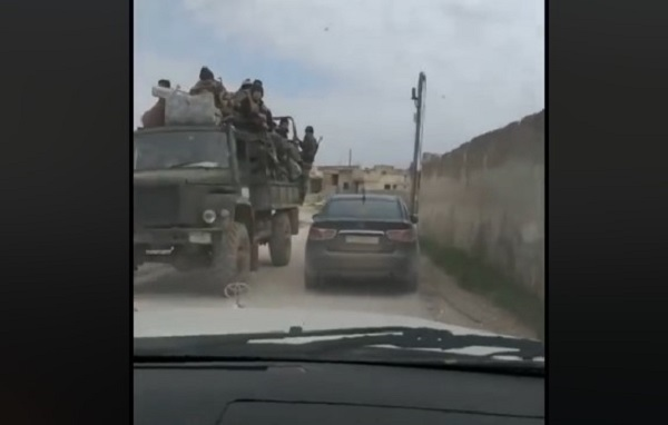 Syrian Troops In Recently Liberated Town Of Kafr Sajnah (Video)