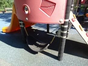 secret swing under playground