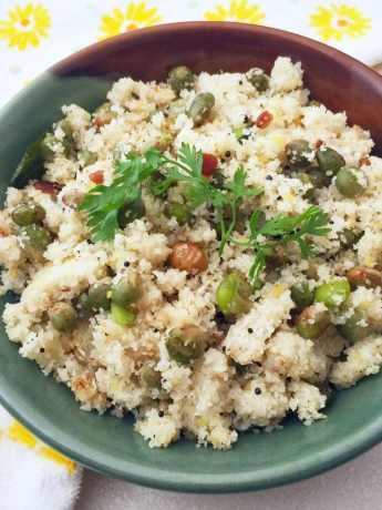 Rice Rawa Upma Recipe