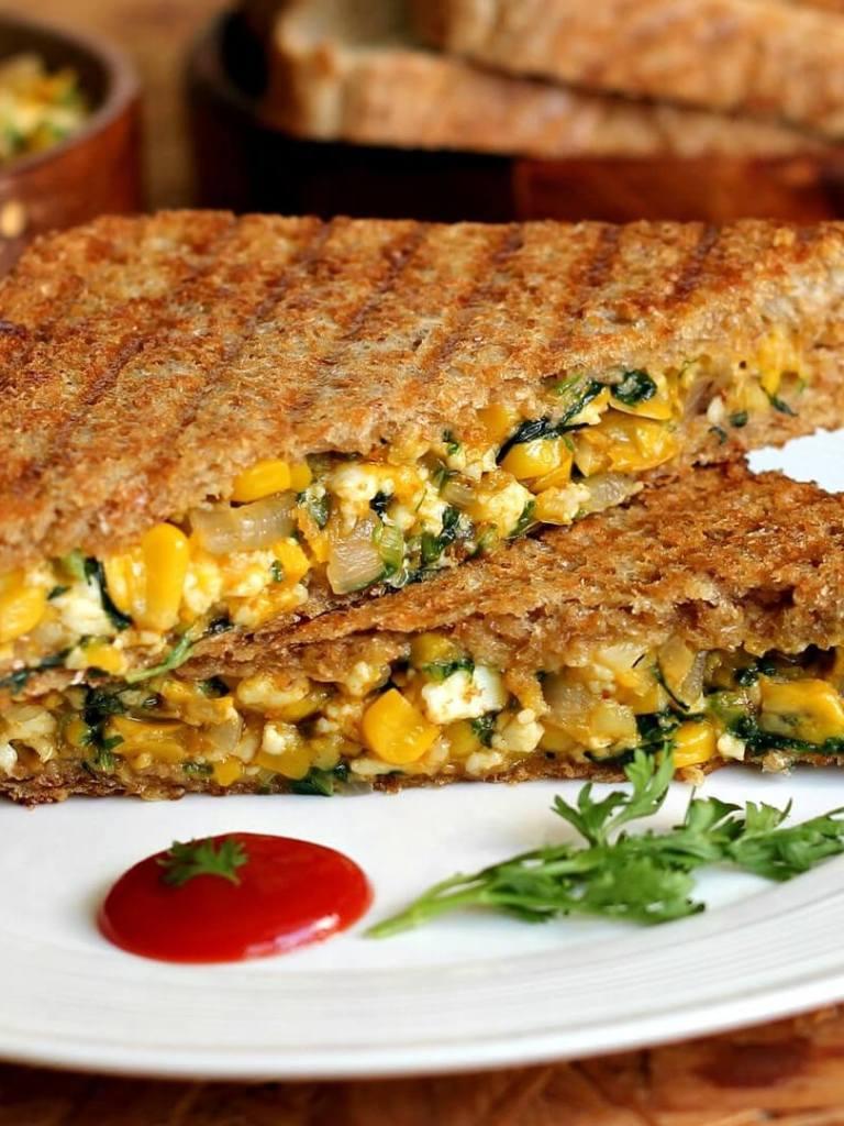 Sweetcorn Sandwich Recipe