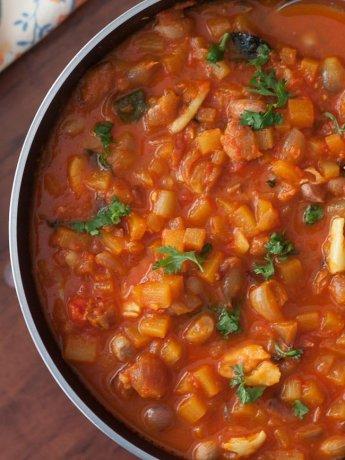 Bengal Gram Peanut Curry Recipe