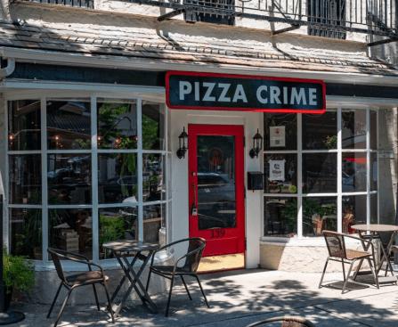 Pizza Crime Haddonfield