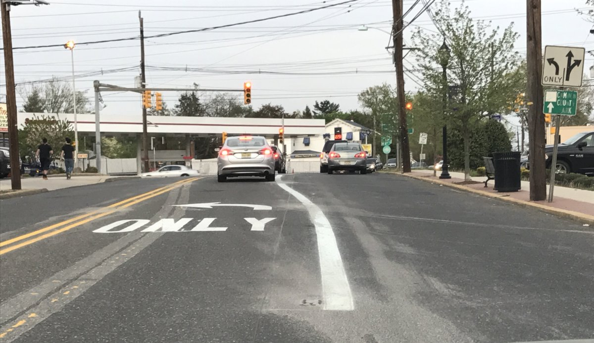 Mt. Ephraim: Left Turn Lane at W. Kings Hwy. & Black Horse Pike Has Been Widened