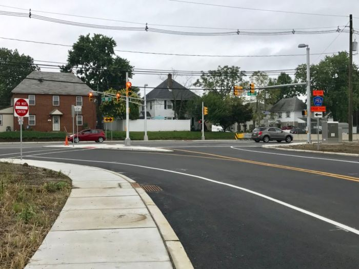 Old Salem Pike and Route 130