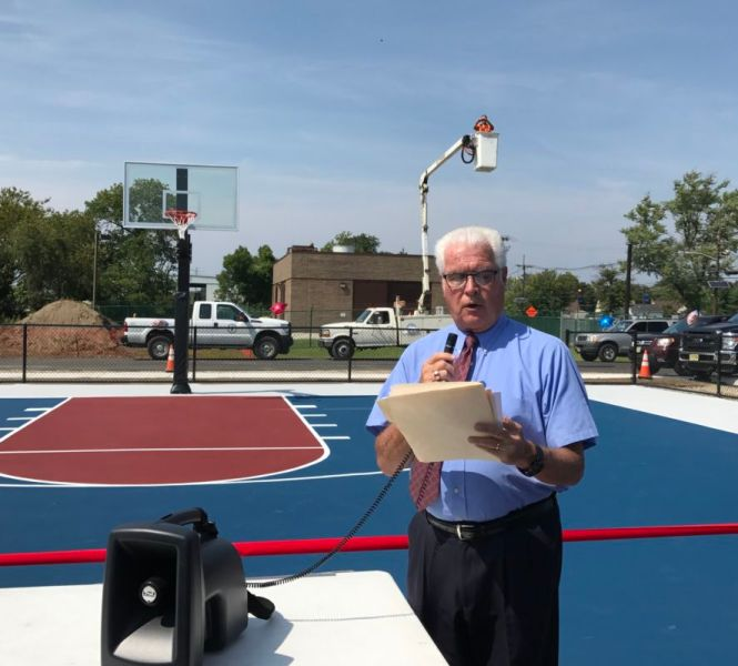 Bellmawr Creek Road Basketball Court