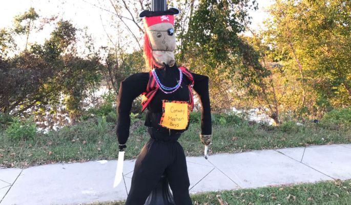 Brooklawn Scarecrows