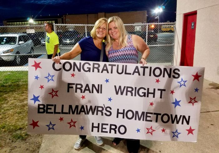 Frani Wright Hometown Hero