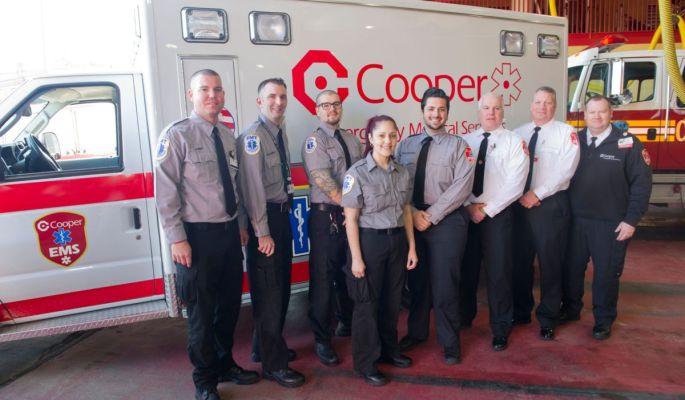 Cooper EMS Camden Fire Dept.