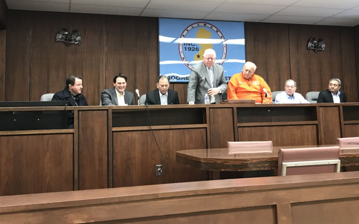 Appointees to the Bellmawr RDA Sworn In; 2018 Temporary Budget Approved