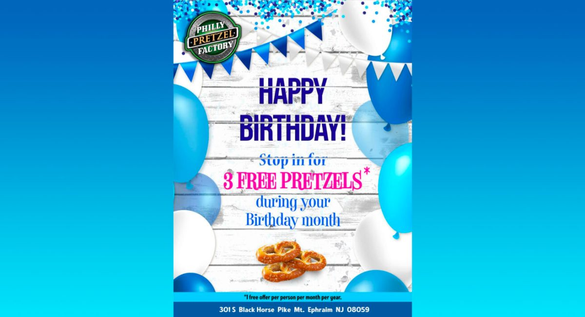 Happy Birthday! Celebrate Your Birthday Month With 3 Free
