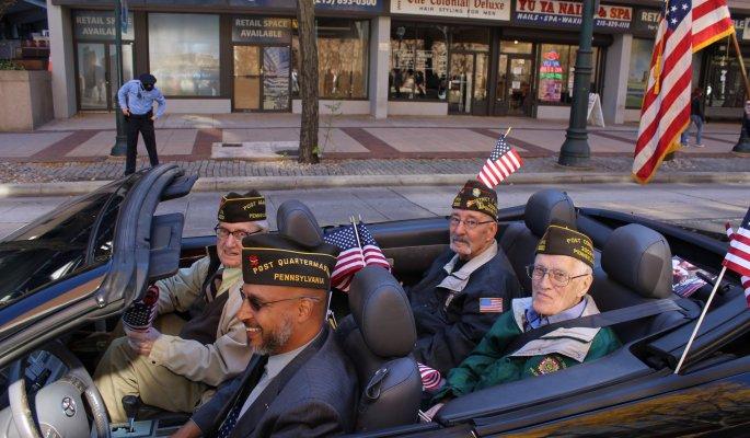 Philadelphia Veterans Parade