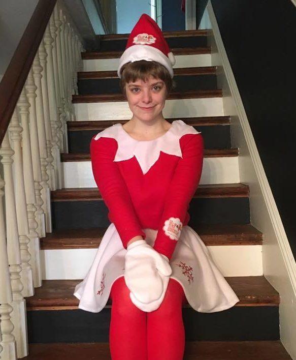 Elf on the Shelf Snowflake