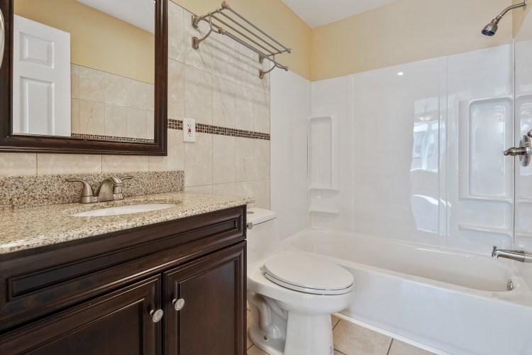 The hall bathroom of 1765 49th ST