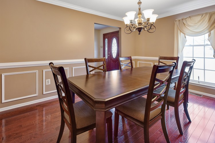 The Formal Dining room of 37 Upton Way Sewell