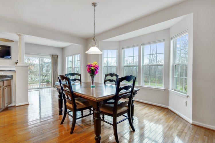 The dining room 611 Sweetgum Lane Deptford