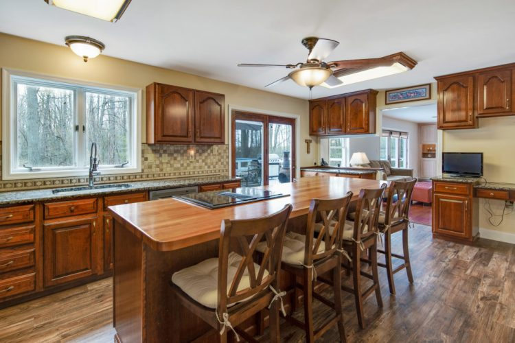 The kitchen at 15 Laurel Drive Mullica HIll NJ
