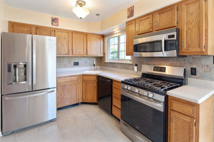 kitchen at 2 Linden