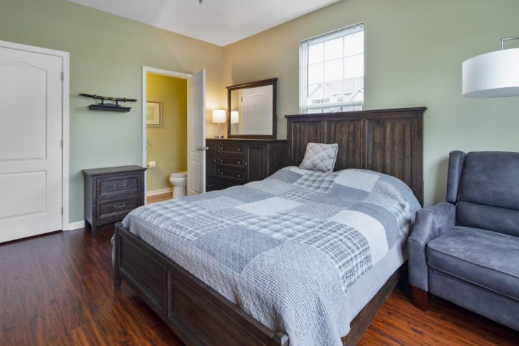 Guest Bedroom at 460 N Palace Drive