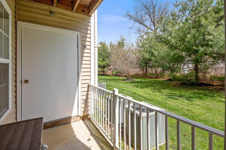 509 Sunflower Way patio off the Master Bedroom