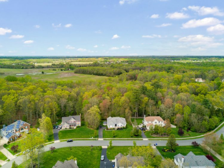 Aerial View of Hampton HIlls