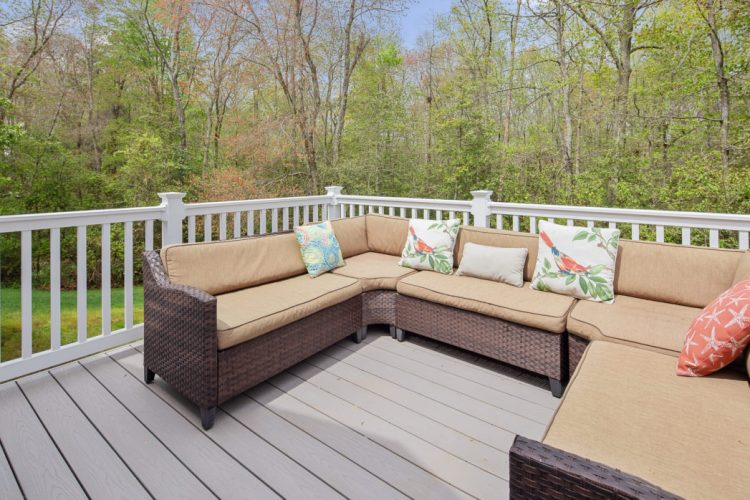 Deck at 130 Millstone Way monroeville