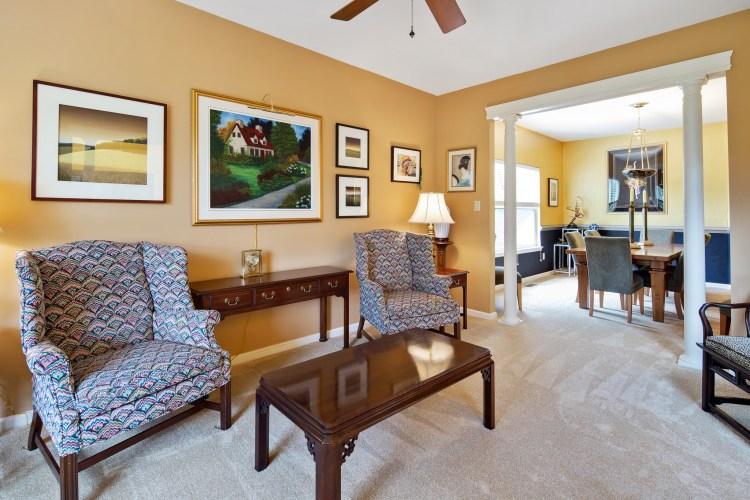 formal living room at 159 Alyssa Dr