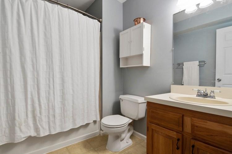 lower level en-suite bathroom