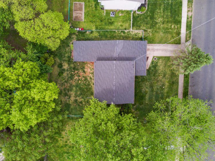 Aerial view of 38 Pennsylvania Avenue Stratford.