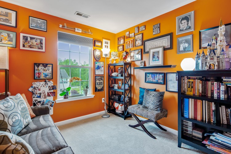Orange Bedroom 415 Concetta Drive Mount Royal