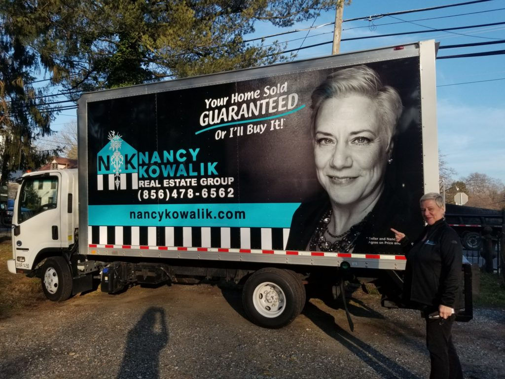 Pack the box truck- Nancy Kowalik and her newly purchased box truck